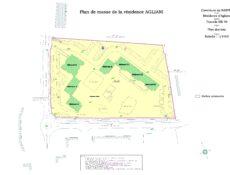 Plan résidence Agliani