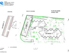 Plan de masse résidence Les Collines