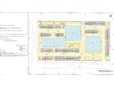 Plan de masse résidence Le Provence